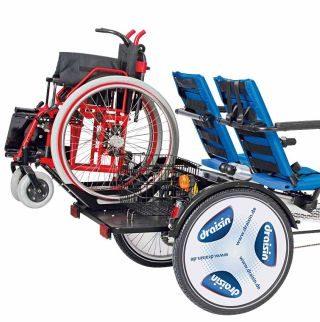 Rollstuhl-Adapter, auch Rollstuhlhalter